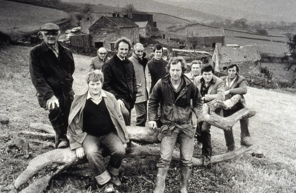 Original ten farm scheme farmers from Farndale