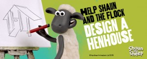 Sean the Sheep design a hen house competition